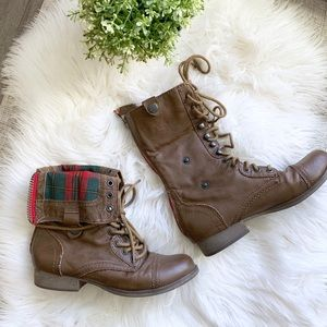 Bakers Fold Over Faux Leather Boots | 7